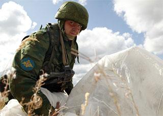 Русские военные уже на Херсонщине