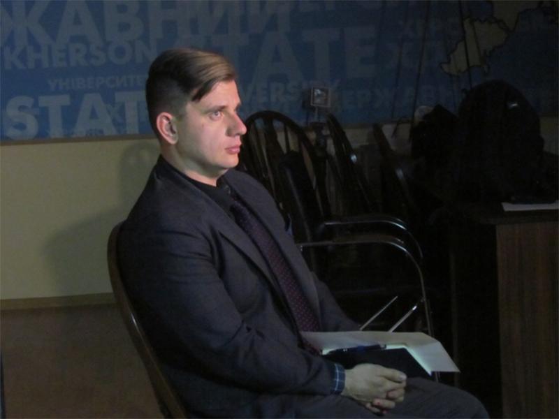 Викладач ХДУ взяв участь у зйомках телепередачі на «24 каналі»