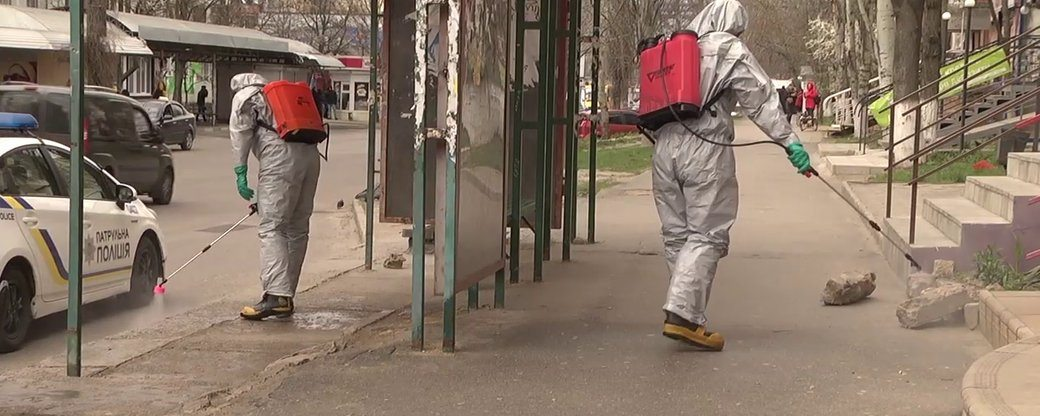 У Херсоні розпочали заходи дезінфекції публічних місць