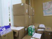 В Херсон доставили очередную партию гуманитарной помощи для борьбы с коронавирусом