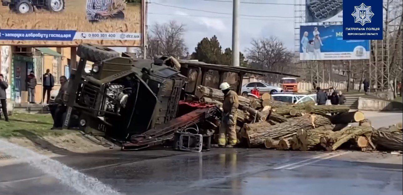 шоссе Вячеслава Черновола,грузовик,ДТП