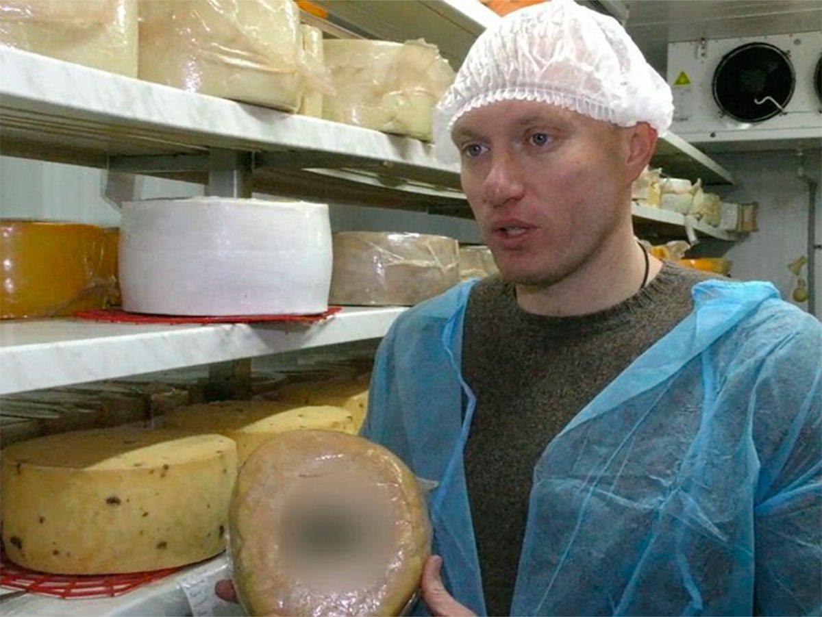 Каховка, сир, подарунок