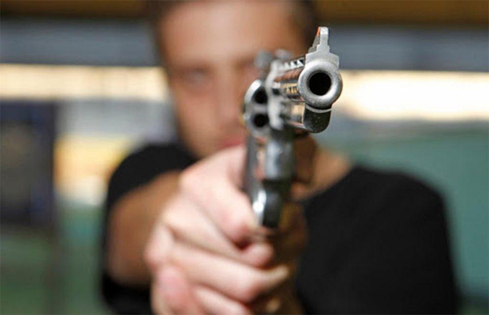 сосед, подстрелил, человек