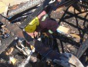 На Херсонщине из-за неправильной эксплуатации печного отопления загорелся жилой дом