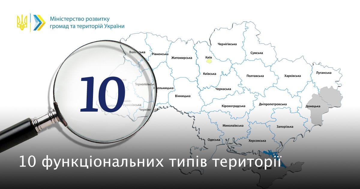 зоны, территория Украины,