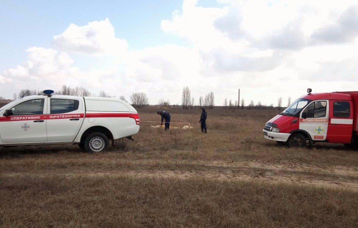 Олешковский район,артснаряд,пиротехники