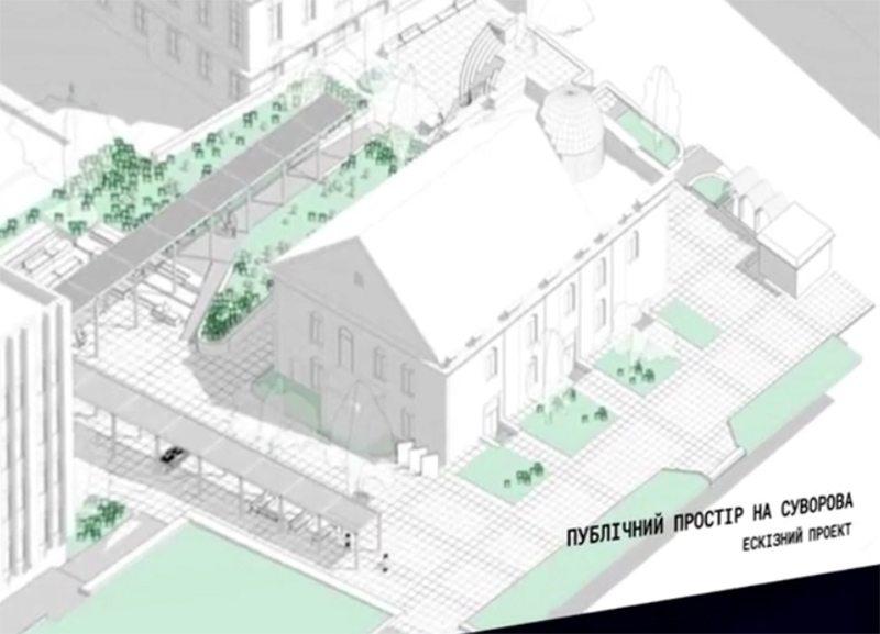 проект, громадський простір