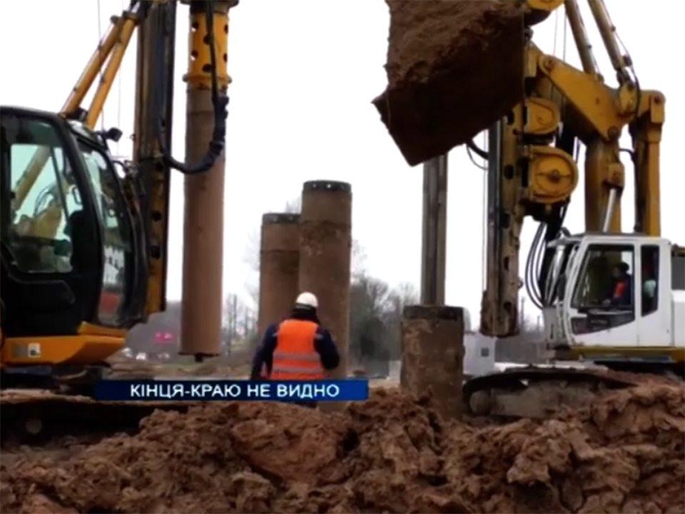 будівництво, мостоперехід, відео