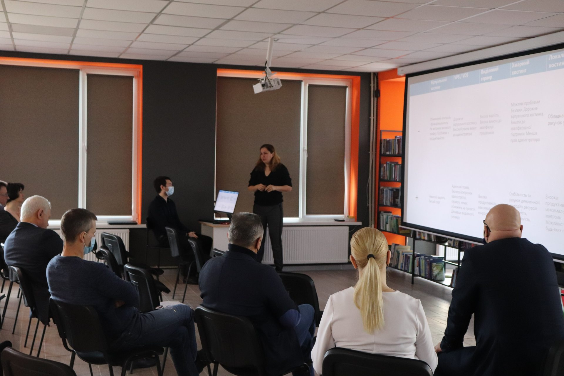 ХДУ, Співаковський, інформаційна стратегія