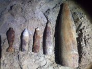 На Херсонщине уничтожили 6 боеприпасов времён войны