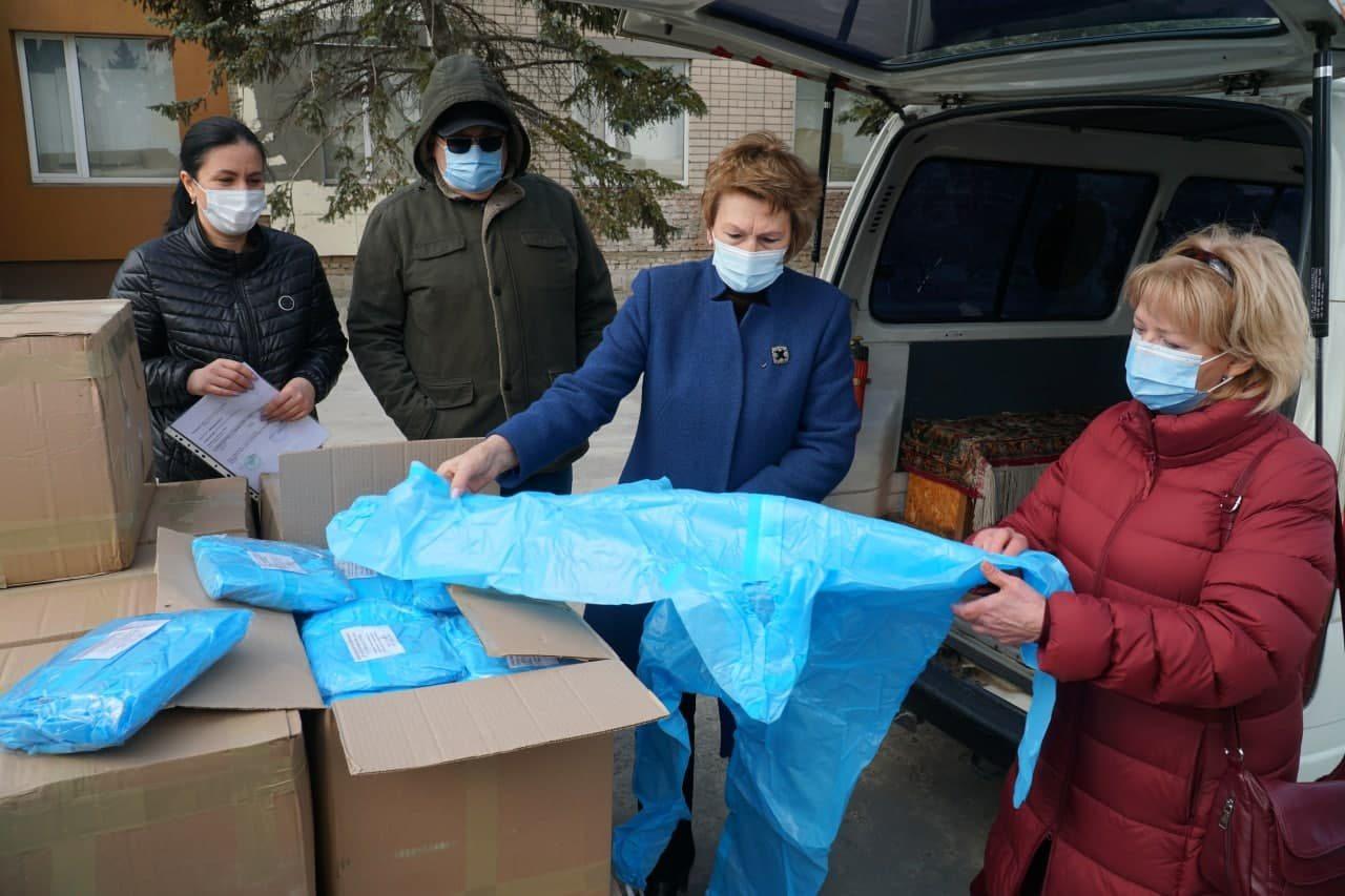 Херсон,защитные костюмы,коронавирус