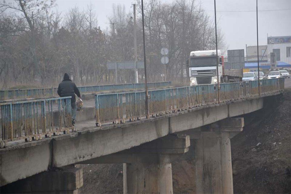 кран, канал мост