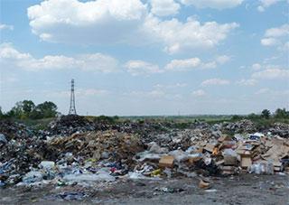 Кто на Херсонщине за мусор ответит