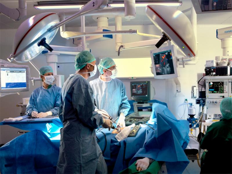 В Херсоне операционная превратилась в видеостудию