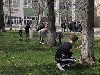 У ХДУ відбулася екологічна акція