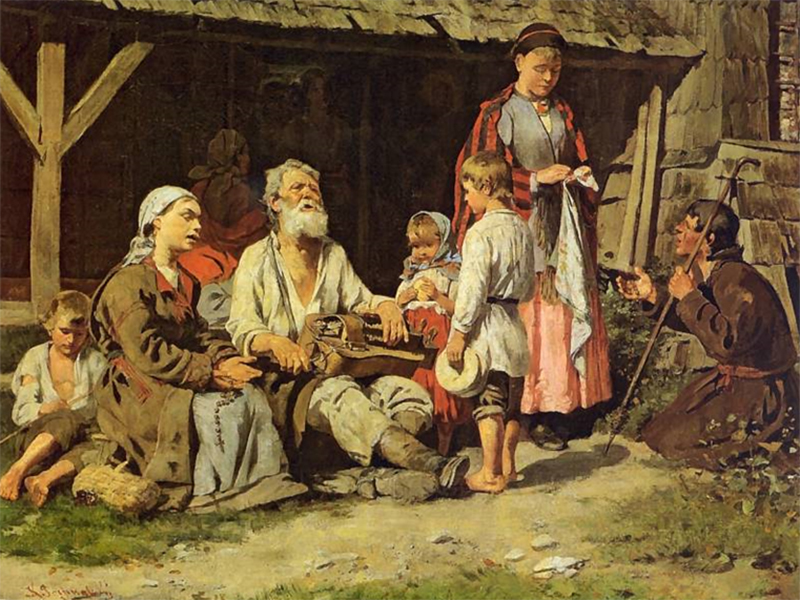 Херсонцам про украинских лирников