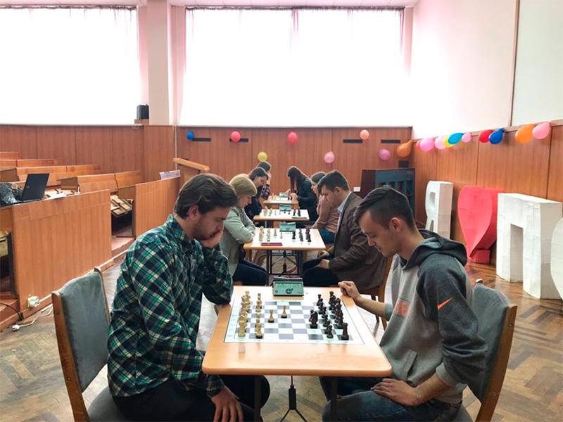 У Херсонському держуніверситеті  визначили кращих шахістів