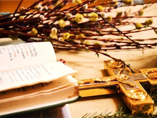 Как херсонцы празднуют Вербное воскресенье