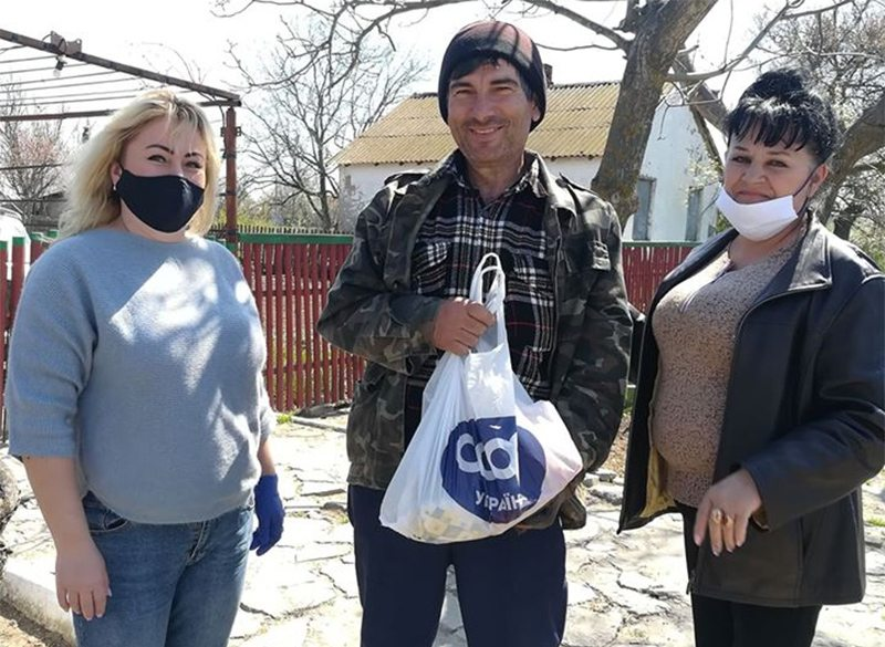 допомога, люди, Скадовськ