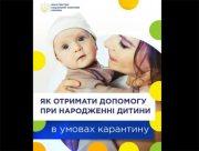 Как получить помощь при рождении ребенка в условиях карантина. Пошаговая инструкция