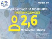 На Херсонщині задекларували 2,6 мільйона гривень іноземних доходів