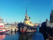 Арестованный буксир был продан из-за долгов по зарплате Скадовского морпорта