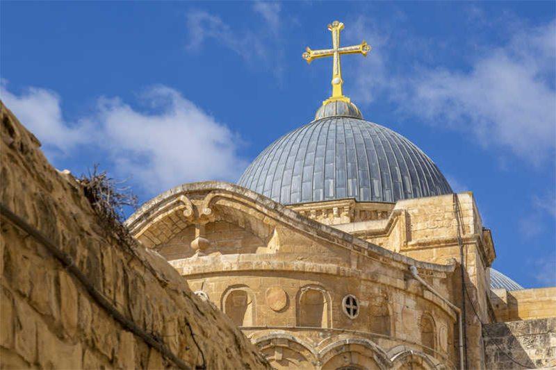 чудо, Храм, Гроба Господня, Иерусалиме