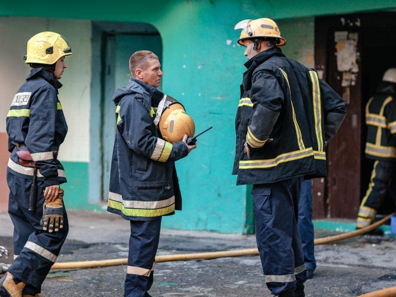 пожар, электрокамин, пенсионерка