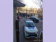В Херсоне полиция остановила игры на спортивной площадке