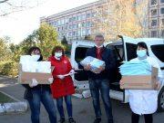 Горностаївщина отримала  від Благодійного фонду Ігоря Колихаєва засоби захисту