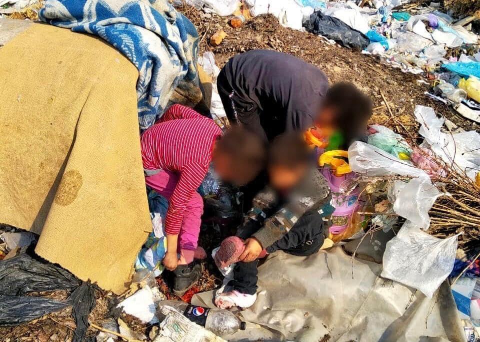 Урсуленко, діти, смітник