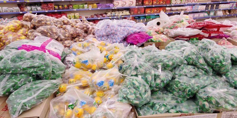 карантин, супермаркеты, продукты, упаковка