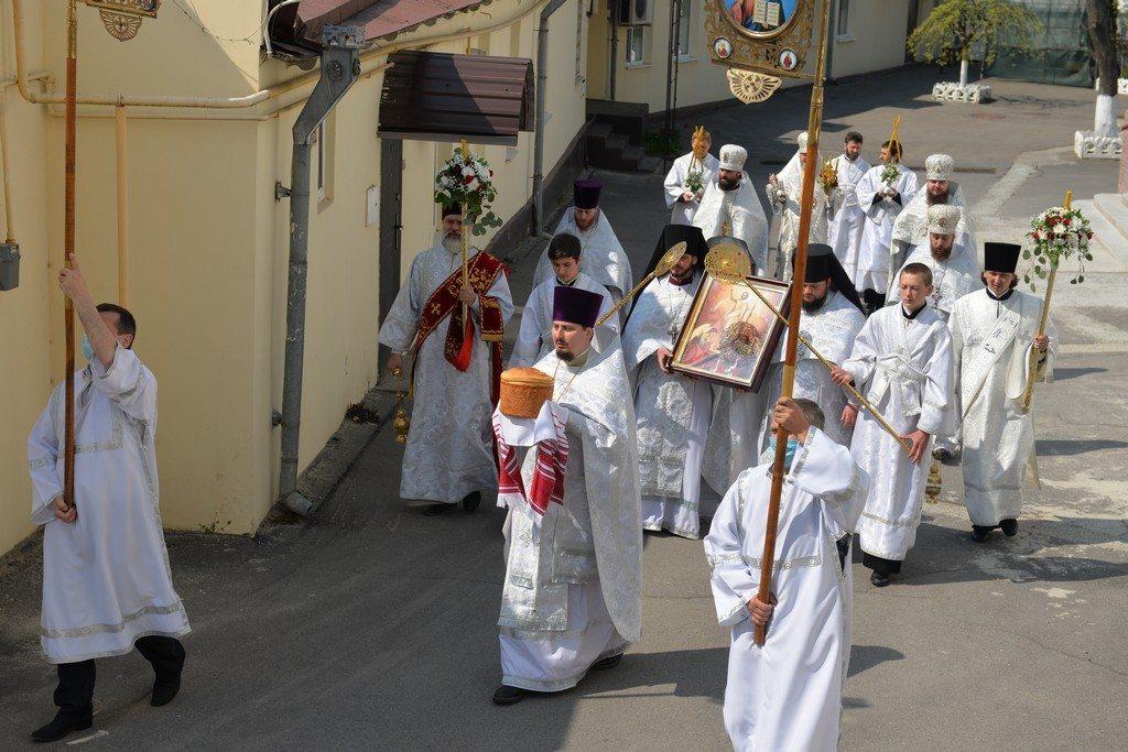 богослужение, митрополит, крестный ход