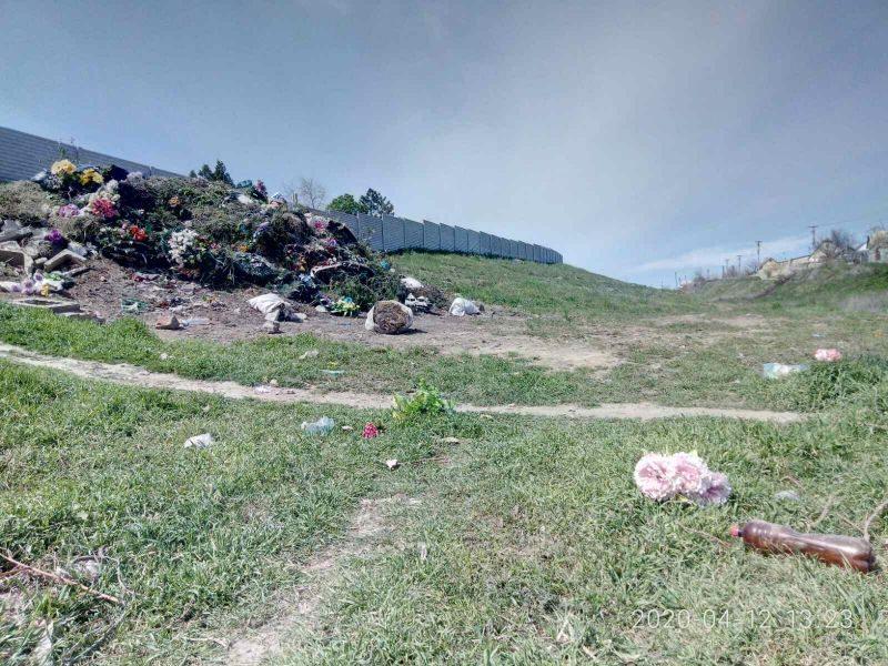 кладбище. антоновка, свалка