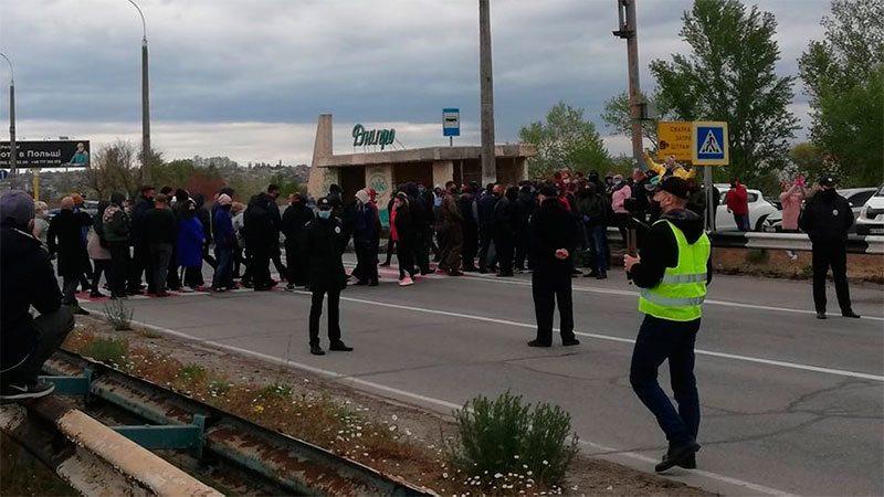 Херсонщина, протест, поліція