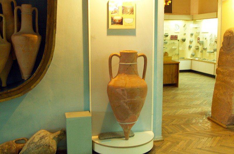 херсонский краеведческий музей,амфора,древняя греция