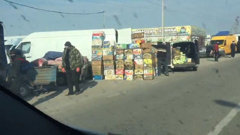 херсон, рынки, копани, овощи, карантин