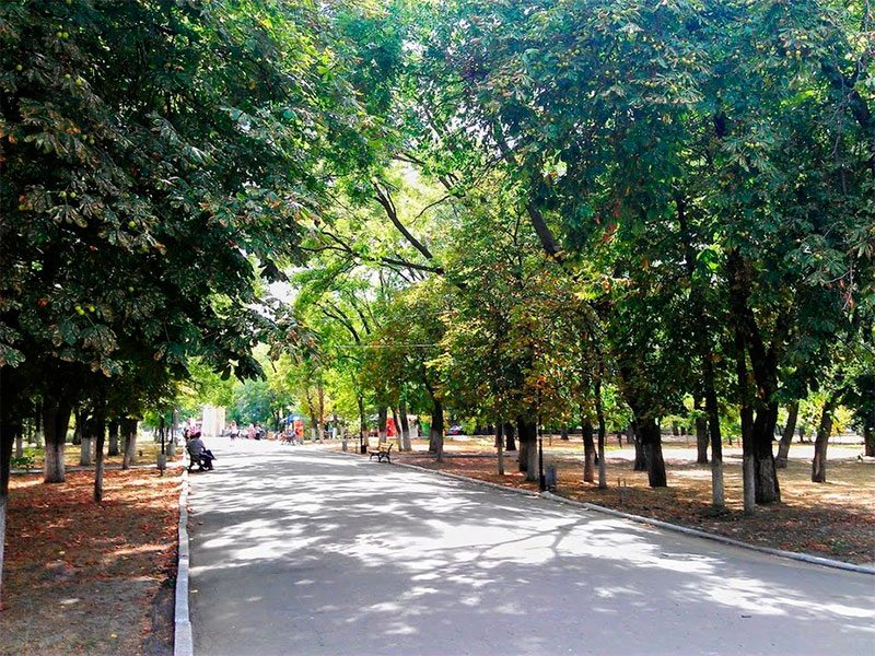 Херсон, парк, отдых