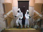 В Херсоне с сегодняшнего дня начинается дезинфекция многоэтажек