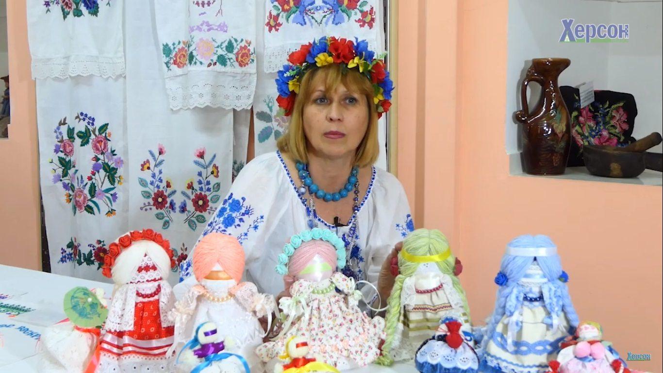 ляльки, мотанки, майстриня