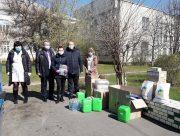 Медики Нової Каховки отримали від Благодійного фонду засоби захисту