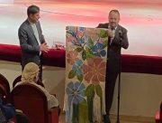 Представники Херсонської облради привітали грузинських театралів