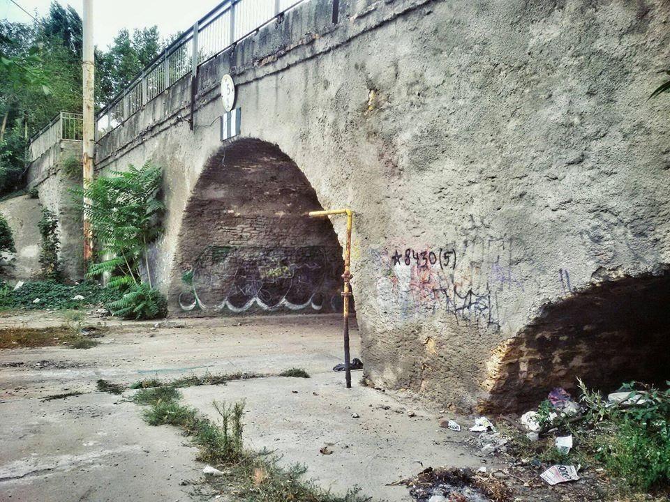 мост, херсонец, упал