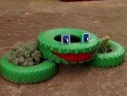 У Херсоні будуть прибирати з дворів автомобільні шини