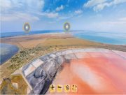 Туристические достопримечательности Херсонщинны стали доступны в виртуальном режиме