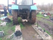 На Херсонщине задержали угонщиков трактора