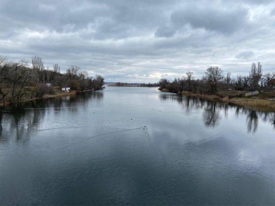 пуск води, Північно-Кримський канал