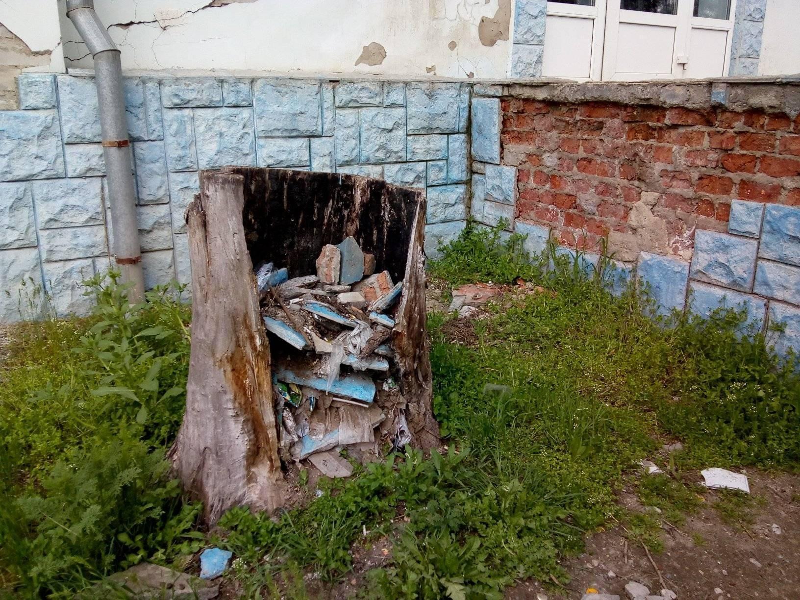 Херсонская альтернатива мусорным урнам