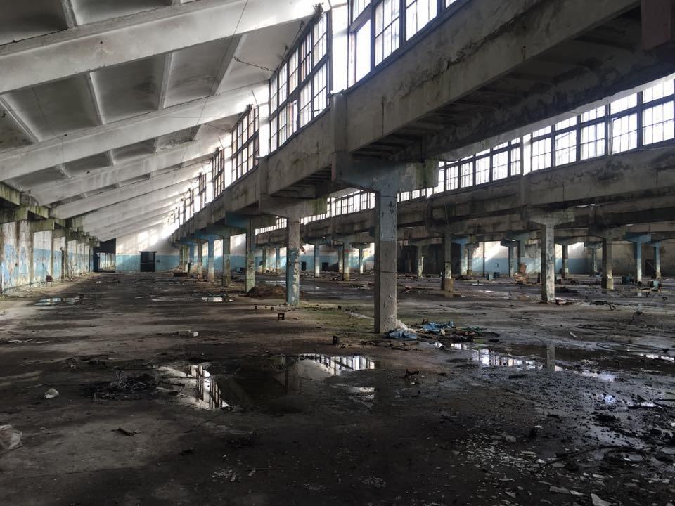 Амалтея, ХБК, руини