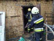 В Херсоне пожар в жилом доме начался из-за непотушенного окурка